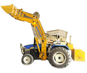 Hydraulic Loader for Cement Industry