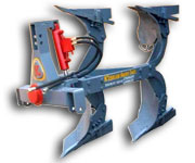 Two Furrow Hydraulic Reversible Plough | Agriculture Equipments Exporter