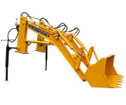 Loader Attachment | Tractor Mounted Front-End Loader | Hydraulic Equipment Supplier
