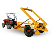 Tractor Mounted Hydraulic Garbage Container Loader