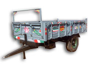 Tractor Trailer | Agriculture Implements Supplier