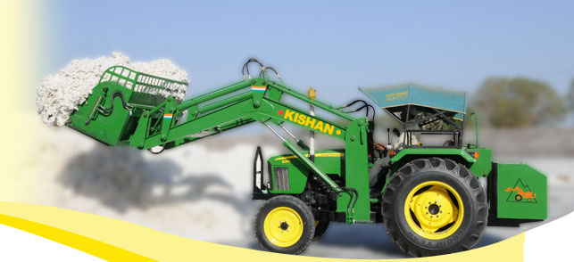 Hydraulic Solution for Cotton Industry | Kishan Equipment
