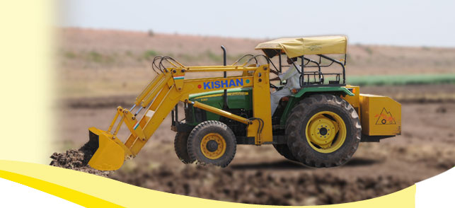 Hydraulic Solution for Digging Soil | Kishan Equipments